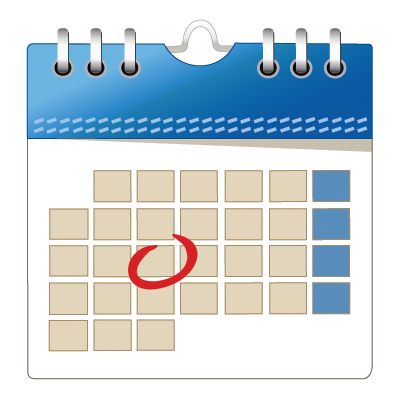 Click the Icon below to view our Calendar