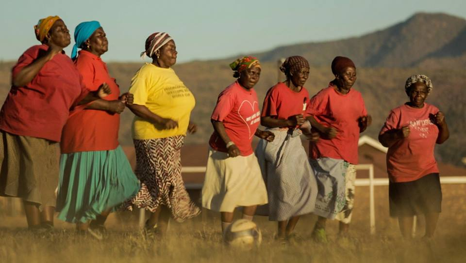 Alive and Kicking: The Soccer Grannies of South Africa – 11:45am SID – 19 min.
