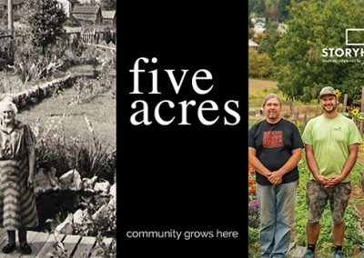 Five Acres – 11:30 am LNS 30 min.