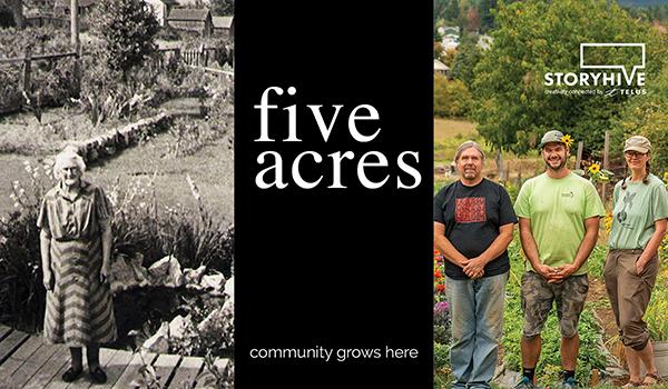 Five Acres – 11:30 am LNS 30 min.